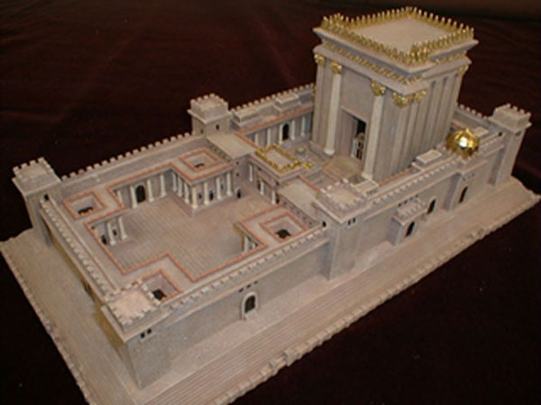 Model of King Solomon's Second Temple Jerusalem Beis ...